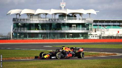 Red Bull at Silverstone