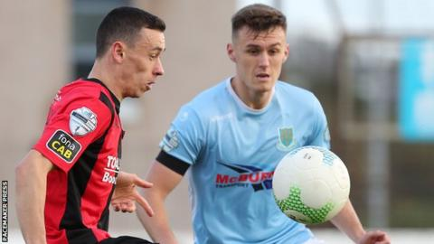Crusaders were unable to to beat Ballymena in a gripping game at the Showgrounds