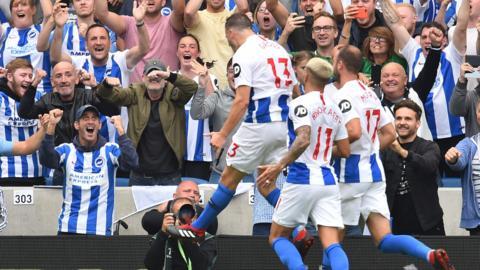 Brighton celebrate