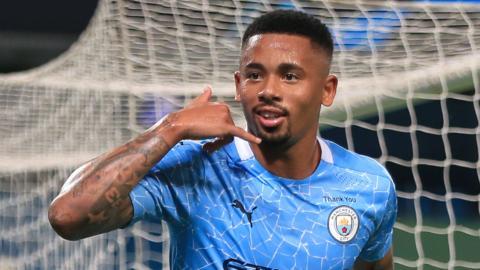 Manchester City forward Gabriel Jesus