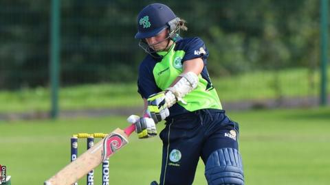 Clare Shillington scored 37 as Ireland were bowled out for 144