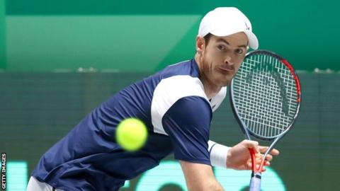science Andy Murray has not played since the Davis Cup event in November