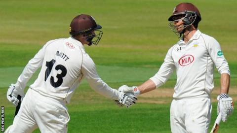 Gareth Batty and Ben Foakes