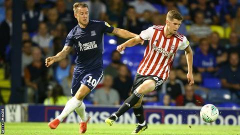 Brentford defender Chris Mepham