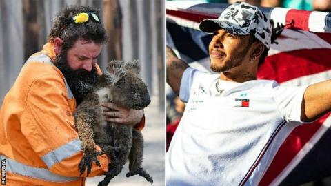Lewis Hamilton gives £250k to help charities fighting Australian bushfires