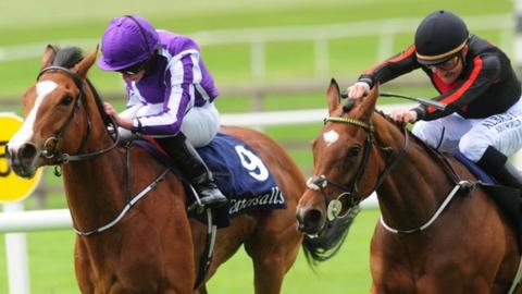 Jet Setting (right) beat Minding by a head