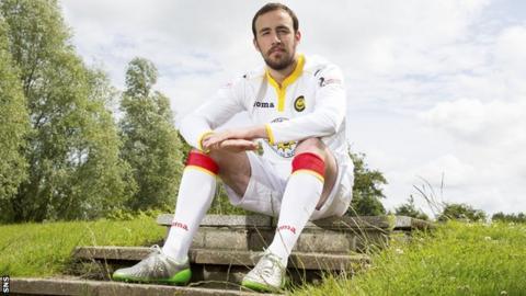 Partick Thistle midfielder Stuart Bannigan