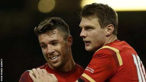 Rhys Webb and Dan Biggar