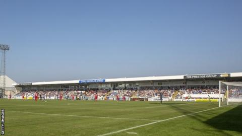 Hartlepool United's Victoria Park