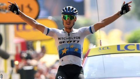 Matteo Trentin wins stage 17 of the 2019 Tour de France