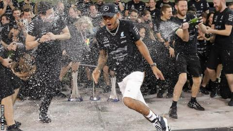 F1 season ends with Bottas winning Abu Dhabi Grand Prix