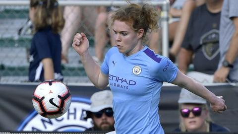Manchester City's Aoife Mannion