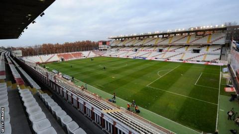 Rayo Vallecano's Vallecas ground
