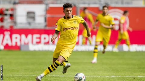 German club Dortmund not ready to lower valuation for Sancho