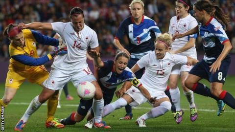 Great Britain v Canada, London 2012