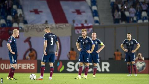 Scotland look shell-shocked in Georgia