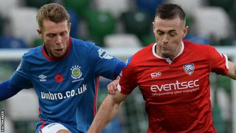 Linfield fell to a home defeat at the hands of Coleraine