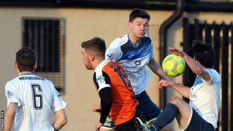 Carrick Rangers hosted Ards on Boxing Day