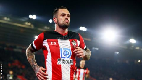 Ings keeps up hot streak, earns Southampton point vs Palace