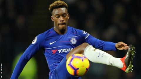 Hudson-Odoi scored his first Chelsea goal in November
