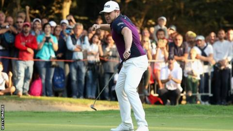 Tyrrell Hatton birdies the final hole