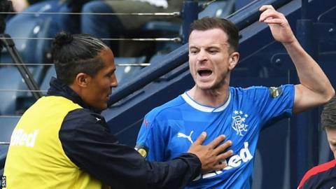 Bruno Alves and Andy Halliday