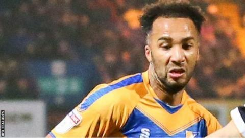 Nicky Maynard's second League Two hat-trick of the season took his campaign tally to 10 goals - 11 in all competitions