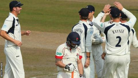 Middlesex celebrate
