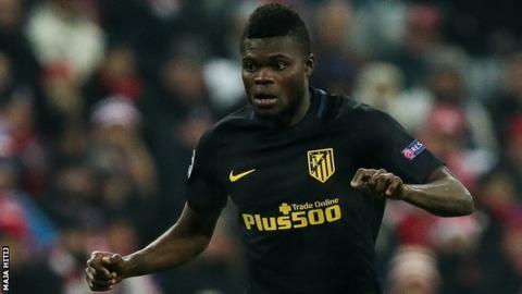 Ghana and Atletico Madrid midfielder Thomas Partey