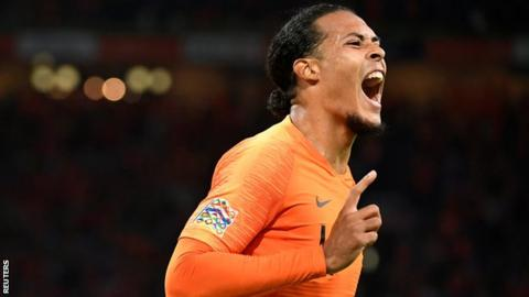 Liverpool defender Virgil van Dijk released from Holland squad with injury concern