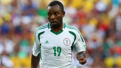 Sunday Mba: Nigeria's Nations Cup hero aims to return after two years out