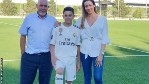 Real Madrid sign Jose Antonio Reyes' son