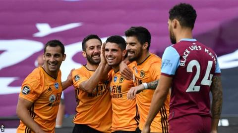 West Ham United 0 2 Wolverhampton Wanderers Raul Jimenez And