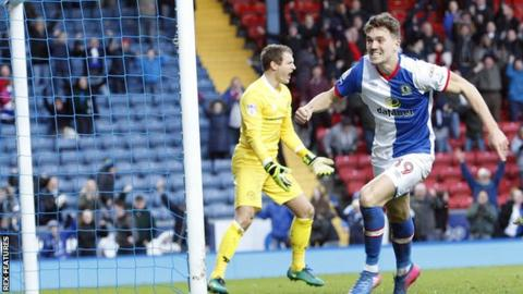 Blackburn's Sam Gallagher
