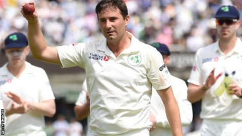 Tim Murtagh represented England at the Under-19 Cricket World Cup in 2000 before joining Ireland in 2012