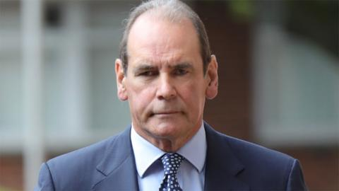 Sir Norman Bettison arrives at Preston Crown Court