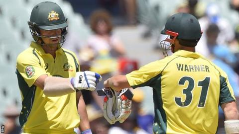 Warner and Head's partnership was Australia's highest for any wicket in ODIs