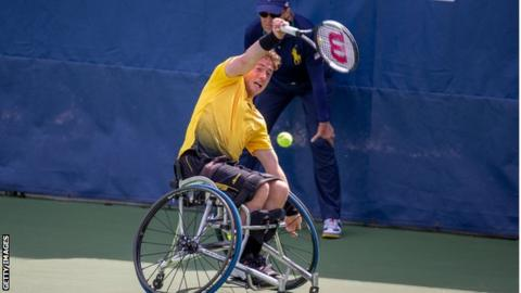 US Open 2019: Alfie Hewett and Andy Lapthorne win singles