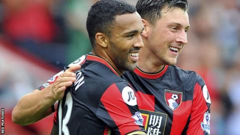 bournemouth callum wilson says he will 39 facetime 39 tommy