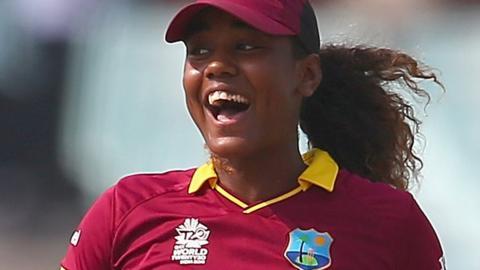 West Indies opener Hayley Matthews