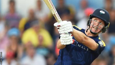 Yorkshire batsman Gary Ballance