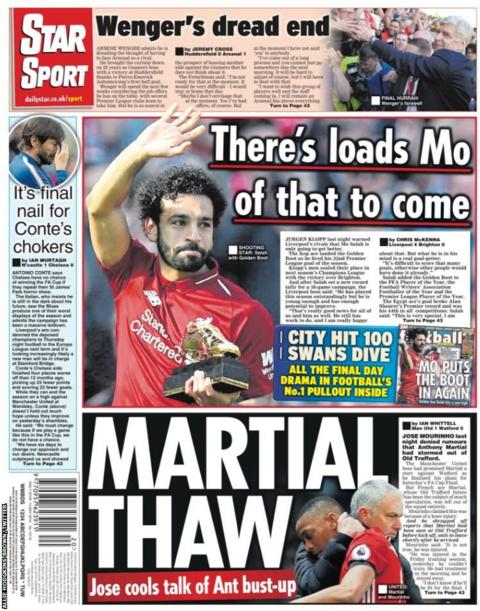 Monday's Daily Star