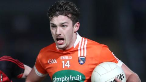 Ethan Rafferty was a star performer for Armagh in the Division Three opener in Sligo