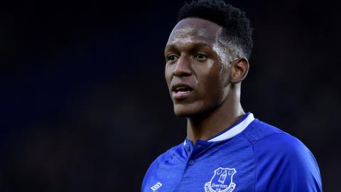 Everton defender Yerry Mina