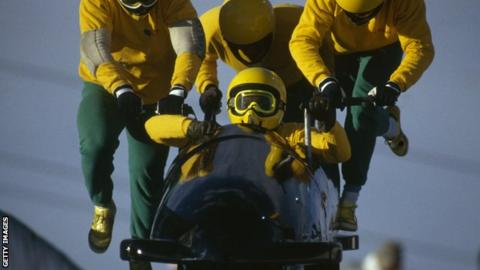 Jamaica's men's bobsleigh team