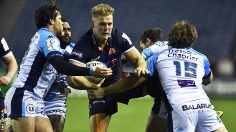 Edinburgh emerged from Champions Cup Pool 5 which contained Montpellier, Toulon and Newcastle Falcons