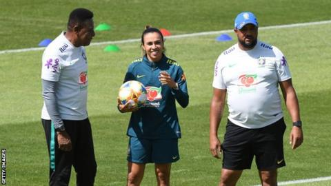 Marta has been training in France