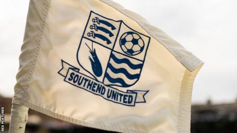 Southend United corner flag