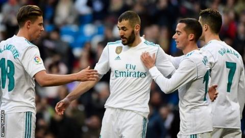 Zidane hails selfless Ronaldo after Benzema penalty gesture