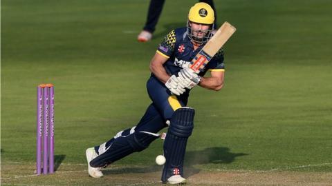 Shaun Marsh batting for Glamorgan